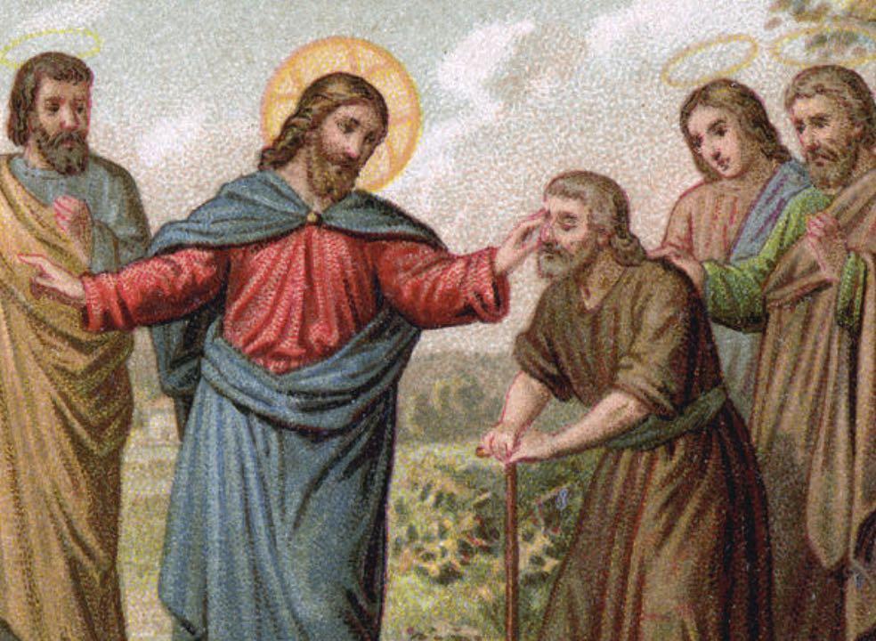 John chapter 9 - Jesus heals a blind man